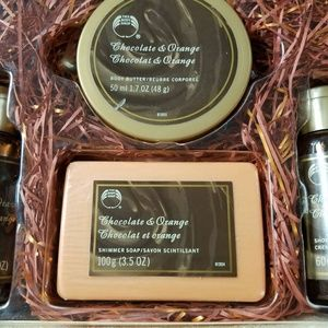 The Body Shop Other - The Body Shop Chocolate Orange Gift Set